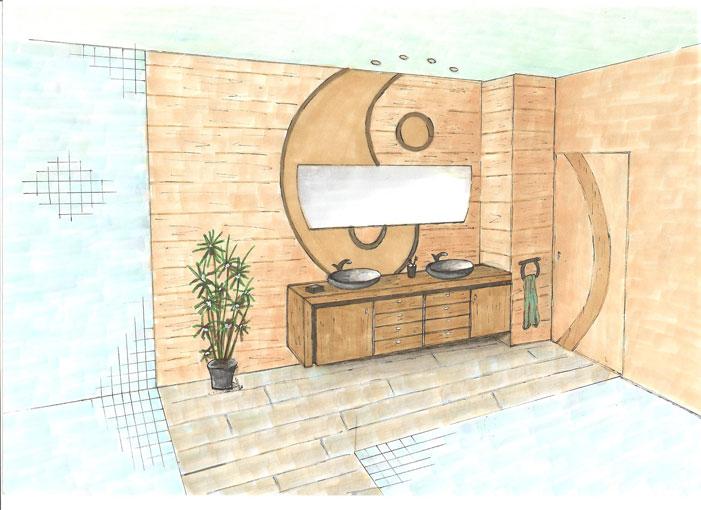 Etude de salle de bains