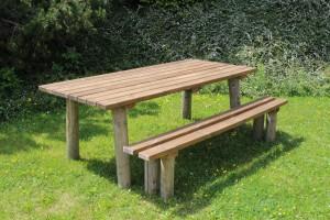 Esprit bois table ext rieur for Table exterieur 300